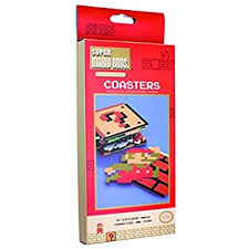 super mario bros coasters multi colour amazon co uk kitchen home