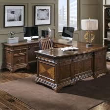 Aspenhome Hawthorne Left Facing Executive U Desk