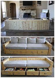 diy sofa with crib mattress cushions and bed pillows free