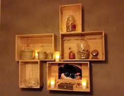 caisse a vin en bois mur béton ciré caisses bois vin de