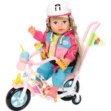 Baby Born Play And Fun Dolls Bike AlexandAlexa
