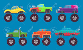 100 Monster Truck Kids Cars Automobiles With Big Wheels Creature Auto