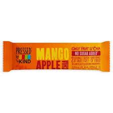Pressed By KINDR 14 Oz Mango Apple Chia Fruit Bar