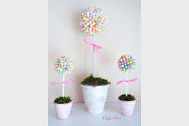 10 Jelly Bean Topiary Easter Do It Yourself