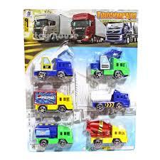 100 Truck Mania 1 Jual TERLARIS Mainan Anak Isi 6Pcs Mainan Mobil