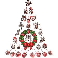 Stickers Sapin De Noel Design Jennelly