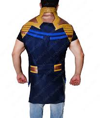 Josh Brolin Avengers Infinity War Thanos Vest USA Jacket