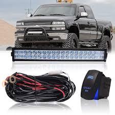 100 Atv Truck DOT 22 Inch 120W Led Light Bar Combo Grill Windshield Bumper Light