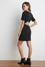 forever 21 cutout back ribbed knit dress you u0027ve been added to the