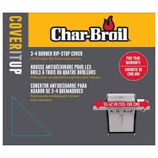 Patio Caddie Grill Cover by Char Broil Grill Cover Ripstop Fabric 62 X 25 X 44 In Model