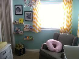 Yellow And White Chevron Curtains by Bonnie June U0027s Diy Nursery Project Nursery