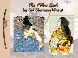 9 The Pillow Book by Sei Shonagon diary