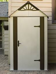 Step2 Lifescapestm Highboy Storage Shed by Arrow Designer Series 4 Ft 6 In W X 3 Ft D Metal Vertical Tool