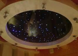 details zu sternenhimmel glasfaser 100 lichtfasern 1mm led sauna badezimmer