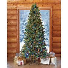 9 Slim Artificial Pre Lit LED Christmas Tree