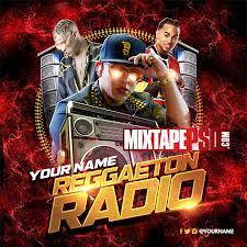 Mixtape Template Reggaeton Radio 11 MIXTAPEPSD