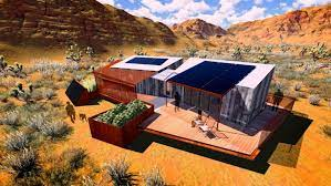 104 Mojave Desert Homes Super Resilient Sol House By Team Las Vegas Captures The S Sun And Soul
