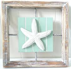 Awesome Starfish Wall Decor Shabby Chic Beach Summer Coastal House Rustic