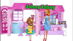 Barbie Doll Eat Lots Of Candy Get Penalized JOHNY JOHNY Yes Papa