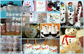 Frosty The Snowman Christmas Tree Ornaments by Snowman Party Week Party On Purpose