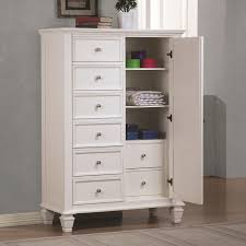 White Wood Chest of Drawers Steal A Sofa Furniture Outlet Los