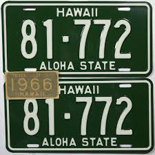 1966 Hawaii Truck License Plates | License Plates And Products Gta 5 How To Get Custom Lettering On Your License Plates 1970 South Dakota Truck Truck Nc Dmv Running Out Of Obx License Plates News Obsver Why Steve Jobs Mercedes Never Had A Plate Cult Mac Plate Slogans Allow Any Or None The Portly Chronicles This May Be The Best Ive Ever Seen Funny Usforcey2khtml Set 2 1956 Genuine West Texas Platessold In Mad Maxs Authentic Regular Department Revenue Motor Vehicle