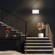 b k licht led wandleuchte exilia g9 led wandle g9 fassung gips strahler flur wohnzimmer modern ip20 weiß
