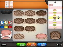 jeux de cuisine papa s jeux de cuisine les burgers de papa louis