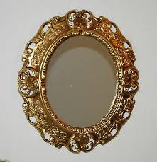 antyki i sztuka wandspiegel spiegel oval barock antik weiß