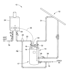 Simple Water Heater Pipe Connections Placement by Patent Us20120060827 For A Tankless Water Heater Used