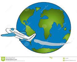 Travel Around The World Clipart 1