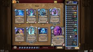 hearthstone knights of the frozen throne mage deck builds youtube