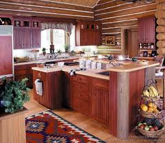 23 Log Home Kitchen