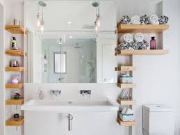 Open Shelves In The Bathroom | Best Interior & Furniture Bathroom Shelves Ideas Shelf With Towel Bar Hooks For Wall And Book Rack New Floating Diy Small Chrome Over Bath Storage Delightful Closet Cabinet Toilet Corner Decorating Decorative Home Office Shelving Solutions Adjustable Vintage Antique Metal Wire Wall In The Basement Inspiration Living Room Mirror Replacement Looking Powder Unit Behind De Dunelm Argos