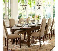 Pottery Barn Aaron Chair Espresso by Benchwright Extending Dining Table Pottery Barn I Like The