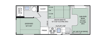 Explore The Floor Plans Of Chateau Class C RV By Thor Motor Coach