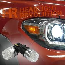 2016 2017 toyota tacoma led front parking light bulbs kit