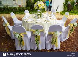 Table And Chairs In Wedding Ceremony Setting Stock Photo: 72335400 ... Tables And Chairs In Restaurant Wineglasses Empty Plates Perfect Place For Wedding Banquet Elegant Wedding Table Red Roses Decoration White Silk Chairs Napkins 1888builders Rentals We Specialise Chair Cover Hire Weddings Banqueting Sign Mr Mrs Sweetheart Decor Rustic Woodland Wood Boho 23 Beautiful Banquetstyle For Your Reception Shridhar Tent House Shamiyanas Canopies Rent Dcor Photos Silver Inside Ceremony Setting Stock Photo 72335400 All West Chaivari Covers Colorful Led Glass And Events Buy Tableled Ding Product On Top 5 Reasons Why You Should Early