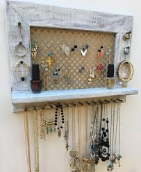 Trendy Display And Must Have Wall Jewelry Organizer To Decorate