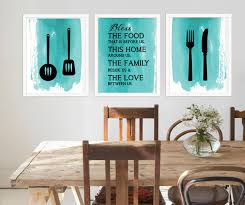 Kitchen Room Wall Art Signs