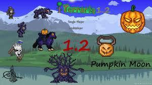 Pumpkin Moon Terraria Farm by Trivia Terraria 1 2 German Hd Pumpkin Moon Halloween Event