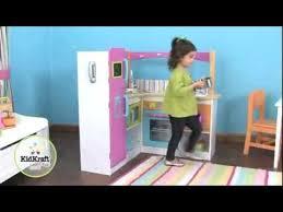 kidkraft bright grand gourmet corner kitchen 53193 childrens