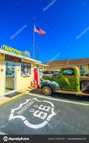 100 Truck Stops In California Dodge Route 66 Stock Editorial Photo Bennymarty 219831630