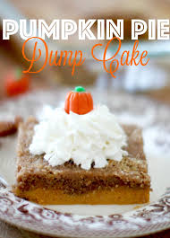Libbys Pumpkin Pie Recipe Uk by Pumpkin Pie Dump Cake The Country Cook