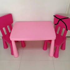 IKEA Mammut Kids Table Chair Pink, Furniture, Tables ... Ikea Mammut Kids Table And Chairs Mammut 2 Sells For 35 Origin Kritter Kids Table Chairs Fniture Tables Two High Quality Childrens Your Pixy Home 18 Diy Latt And Hacks Shelterness Set Of Sticker Designs Ikea Hackery Ikea