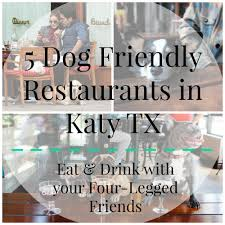 Pumpkin Patch Katy Tx by 5 Dog Friendly Restaurants In Katy Texas