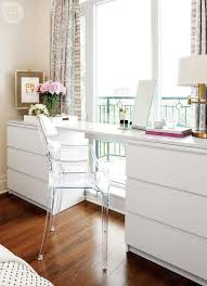Love The Creativity Of Using 2 Malm Dressers From Ikea With A Long Board For