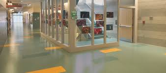 Easy To Maintain Rubber Flooring Attracts Facility Managers