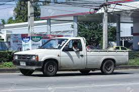 100 Old Nissan Trucks CHIANG MAI THAILAND OCTOBER 31 2016 Private Old Pickup