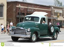100 Small Pickup Truck Antique In A Parade In Town America Editorial Photo